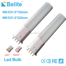 4 pins 6W 8W 2G7 led lamp