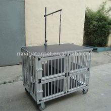 Aluminum Dog Show Trolley, Aluminum Pet Show Trolley