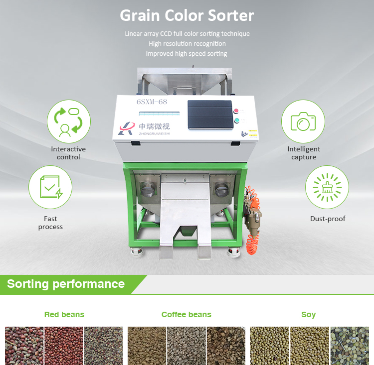 Cheap Optical Grains Color Sorter Machine from Manufacturer