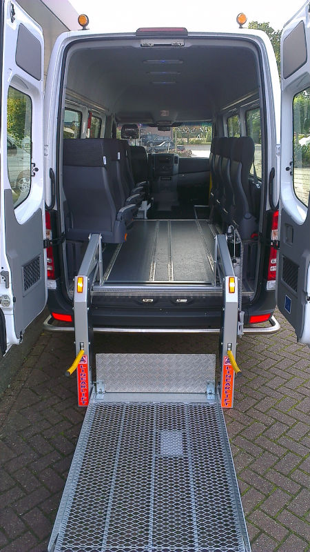 Mercedes Sprinter Multifunctional wheelchair bus