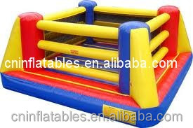 Box And Bouncer, Inflatable Box Ring With Gloves