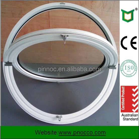 Aluminum Arch Windows/Round Window/Double Glazed Glass Windows