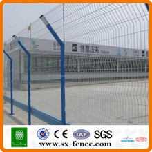 high security hot dipped galvanized pvc coated port fence