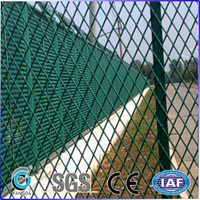 China used chain link fence for sale factory