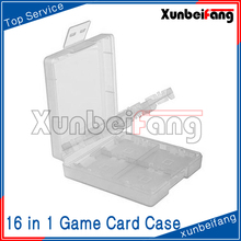 16 in 1 Game Card Box Case for 3DS for NDS White