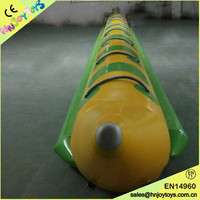 Alibaba inflatable pvc towable ski tube, inflatable water tube with wholesale price