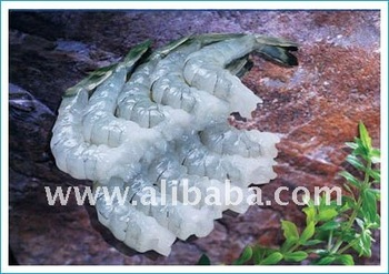 Raw Black tiger shrimp, PDTO, IQF, 1Kg/PE x 10/CTN