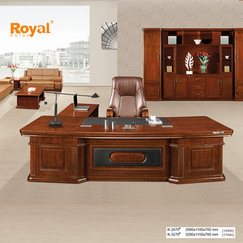 Hot sale top quality office furniture wood executive desk made in