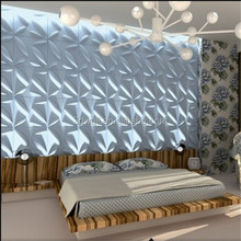 3d effect natural plant fibre board wall panel in high quality