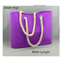 Wholesale Eco-friendly Waterproof Silicon Beach Bag Silicone Shoulder Bags For Woman Candy Jelly Bags