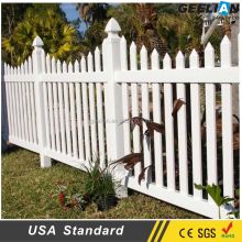 customized vinyl plastic picket garden fencing decorative picket fence ireland