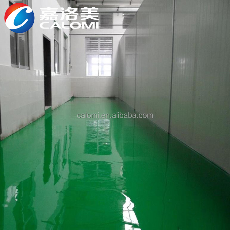 Two component anti-slip epoxy concrete floor coatings epoxy floor primer