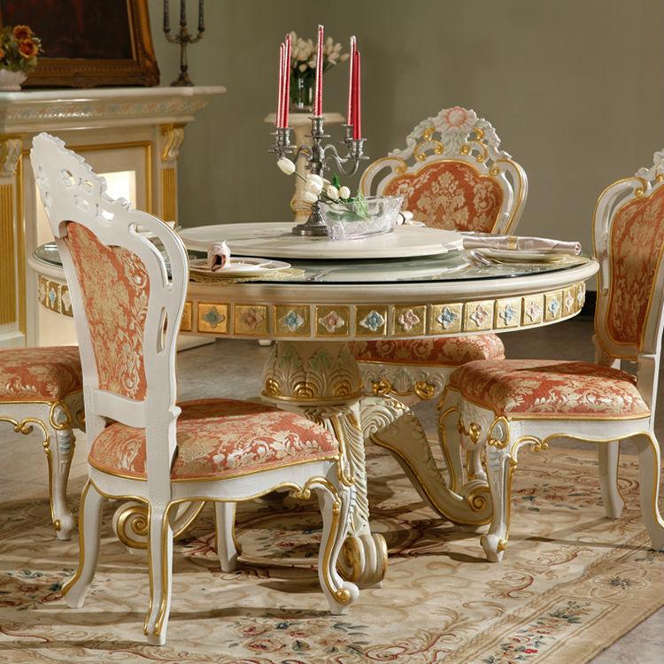 le pr sident costume meubles royale classique en bois massif sculpt la main salle manger. Black Bedroom Furniture Sets. Home Design Ideas