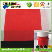 Better water based Spicy red pigment paste for Textile screen printing machine