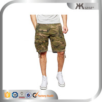 High quality men's cheap camo pattern cargo shorts