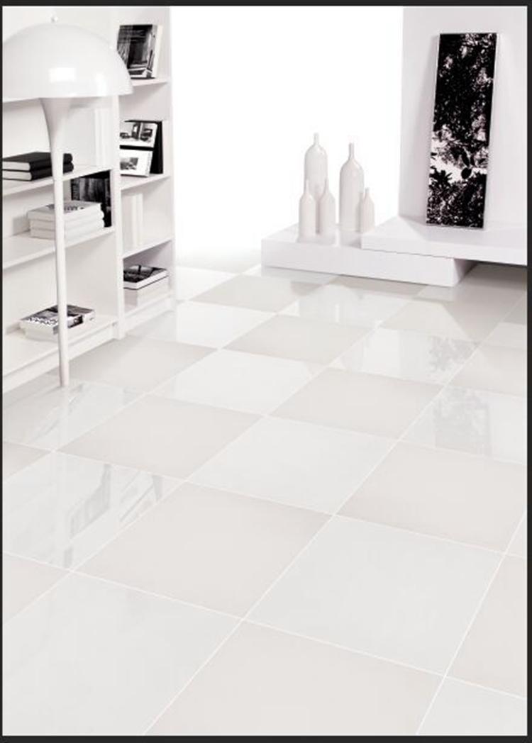 Super white nano polished and honed porcelain floor tiles - Piastrelle vetrificate ...