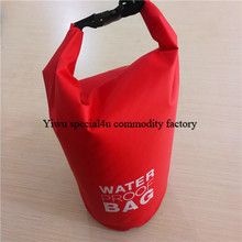 SPKD-046 high quality portable lightweight folding diving ocean pack pvc waterproof dry bag with carry handle