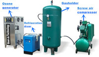 ozonator, ozone generator for Wells and cisterns field water disinfection tanks disinfection/ sterilizer