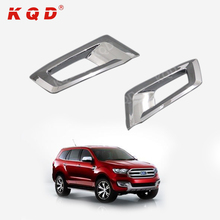car exterior accessories front fog lamp cover for ford everes