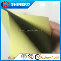 Self adhesive a4 inkjet printable pvc plastic sheet