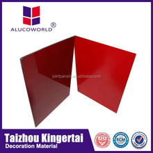 Alucoworld New design anodized curtain wall aluminium profile cladding acp manufacturer