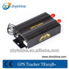Network wire cable tracker with car remote stop ZY gps vehicle tracker TK-103B cell phone/ online car locator