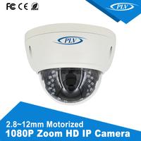 1080P remote control 2mp 25/30fbs resolution network camera auto zoom cctv cameras ip China