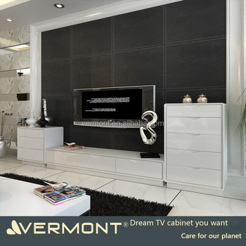 2018 modern customized TV cabinets for home usage