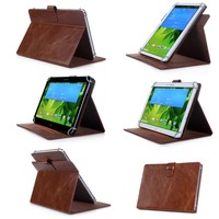 China factory bulk sale Rotatintg universal leather case for 7 inch tablet