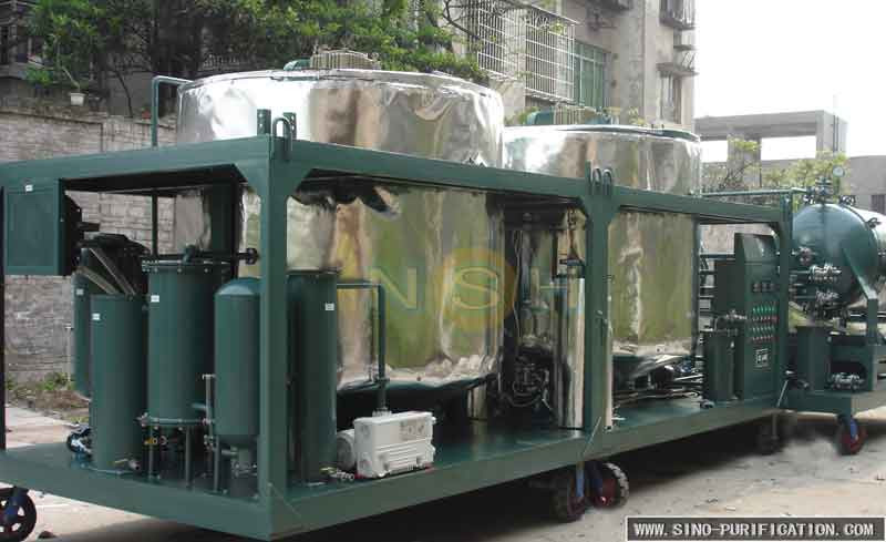 Engine Oil Filter Recycling Machine, Used Engine Oil Recycling Equipment, Mobile Oil Change Equipment For Sale