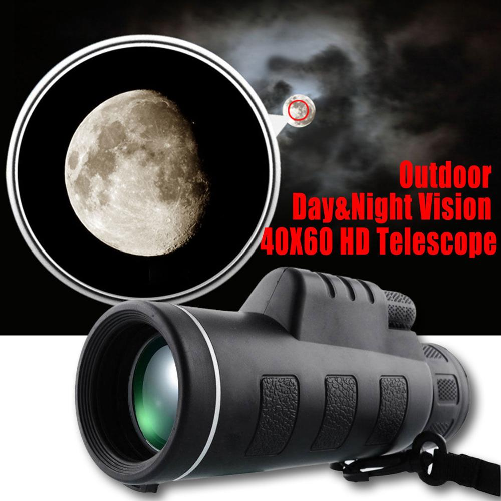 8x21 telescopic monocular mobile phone video monocular telescope with clip iphone lens
