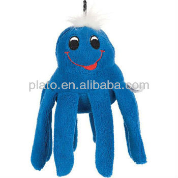 Hot Selling Adorable Plush Octopus, Cute Stuffed Blue Octopus Toy for Sale
