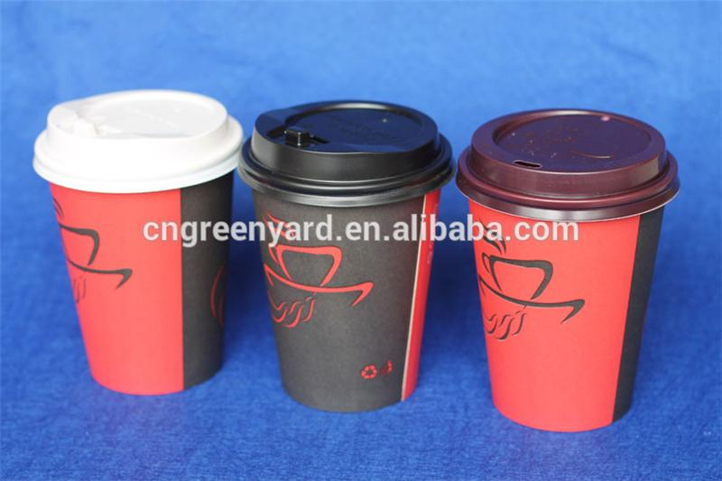 China Factory 8oz 12oz 16oz coffee shop coffe cup paper