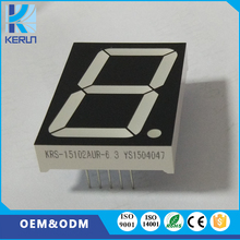 Customized discount price big size LED display screen 1.5 inch one digit 7 segment led digital display