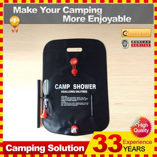 Portable Solar Outdoor Camping Shower Unit