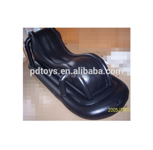 ASTM PVC S shape air inflatable expensive sofa