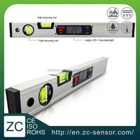 ZC Sensor Hot Selling High accuracy dual axis digital universal protractor / level bar / angle ruler