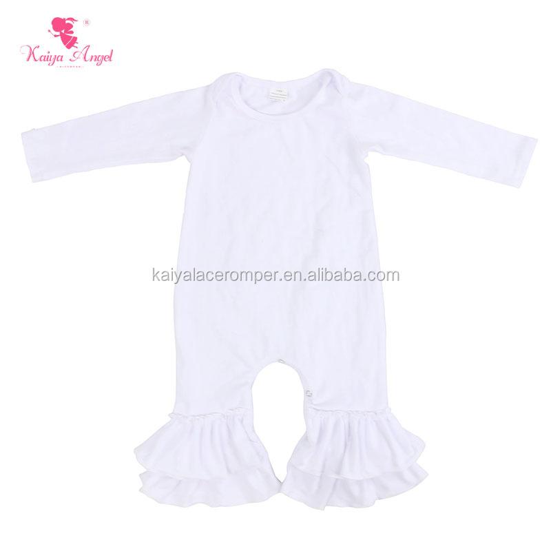 Wholesale plain white baby romper - Online Buy Best plain white baby ...