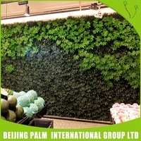 China manufacturer artificial green wall