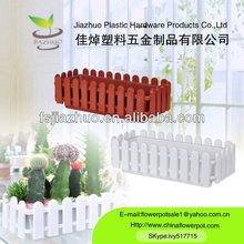 plastic garden fence flower pots wholesale