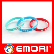 Bulk buy from China lightweight smart silicon waterproof wristband