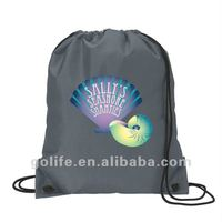 High quality polyester pull string bag