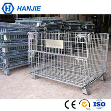 Chinese supplier custom size metal stackable bulk wire mesh container