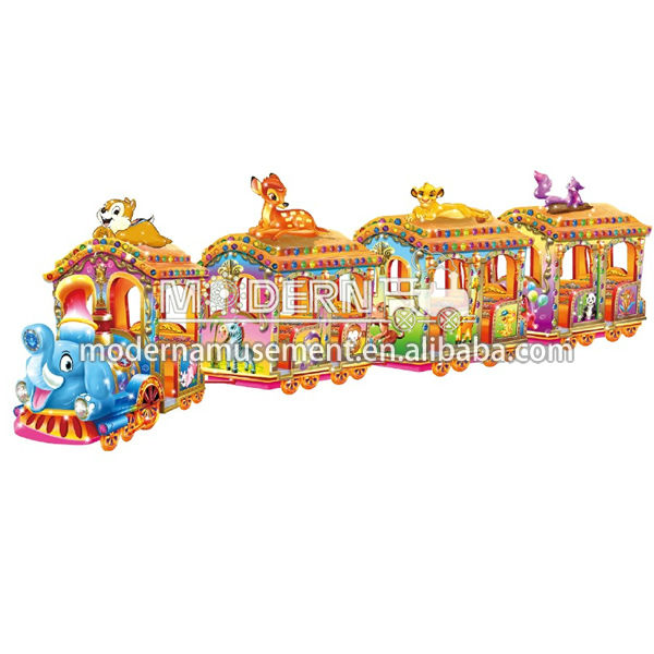 Amusement Elephant Trackless Miniature Trains For Sale