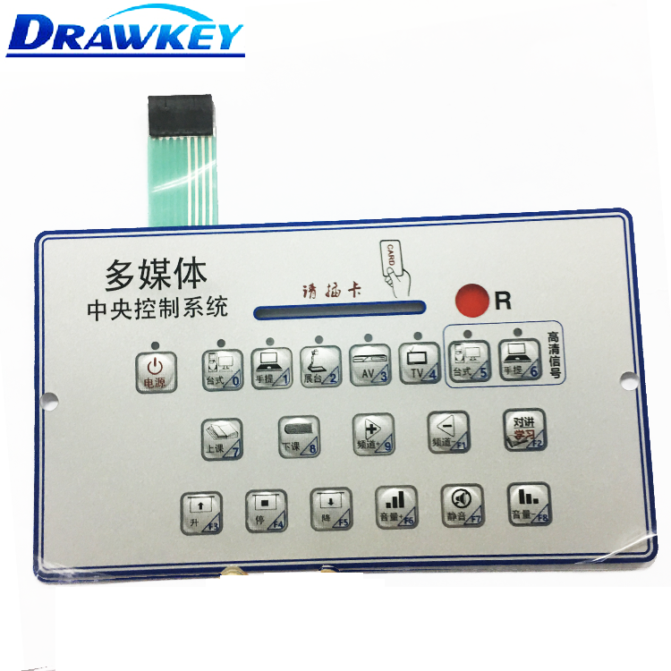 Tactile Membrane Keypad Switch Circuit