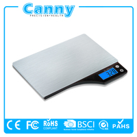 Digital Kitchen Scale Electronic Weight Diet Food LCD Compact Scale CE RoHS FCC certificate