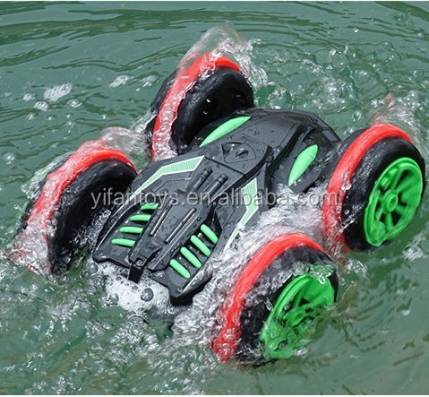 Waterproof rc car racing car truck on water electric toys car 4*4 4WD environmental ABS truck