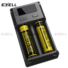 2016 new Nitecore I2 battery charger universal charger for power tool battery for 18650 nitecore i2 i4 2 d4 F1