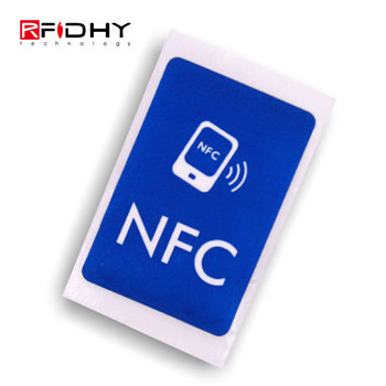 Fashionable Writable PVC RFID Ntag125 NFC Tag