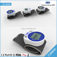 Bls 2008A family and personal care christmas promotional gift blood pressure wrist meter